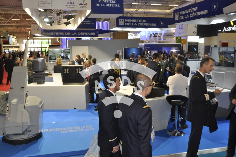 Euronaval 2016 French Ministry of Defence Stand