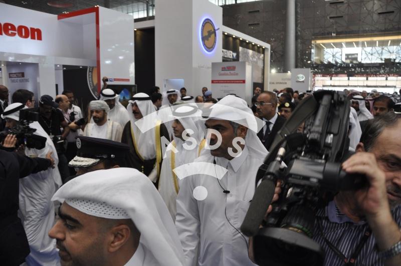 MILIPOL Qatar opening visit