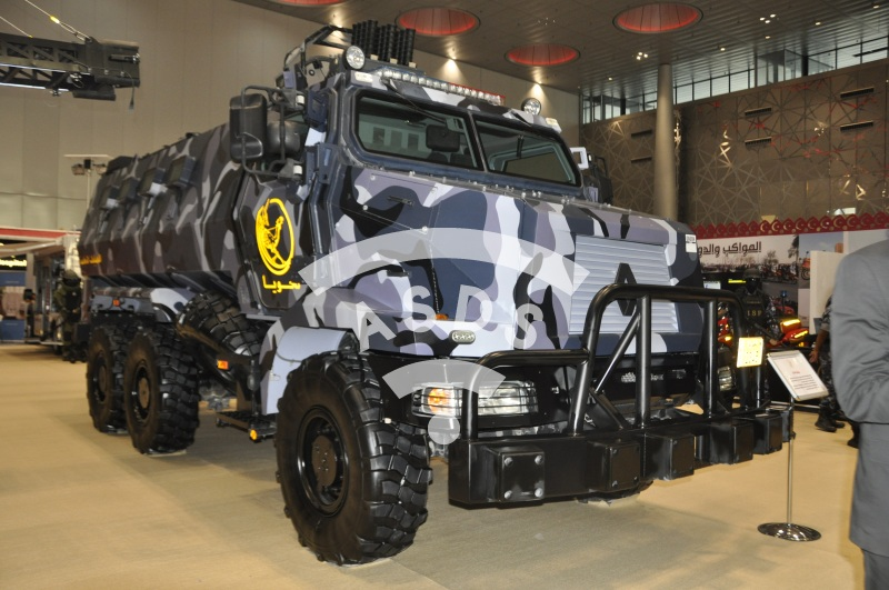 Qatari Higuard MRAP vehicle