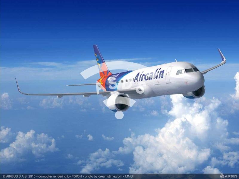 A320neo for Aircalin