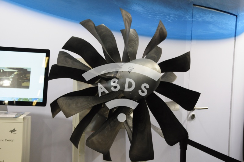 CRISP II open rotor - DLR