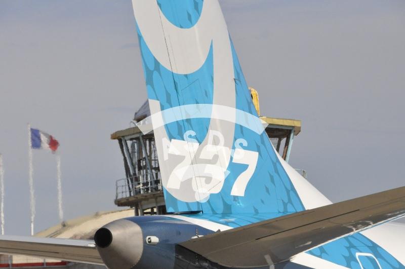 B737 MAX9 at Paris Airshow 2017