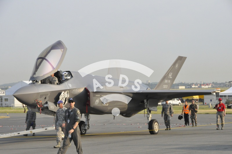 F-35A at Paris Airshow