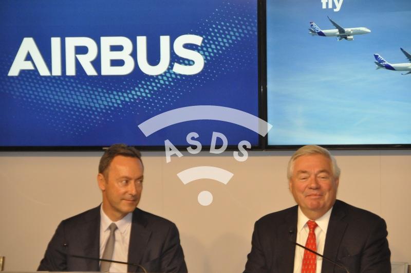 Airbus Press Conference at Paris Airshow