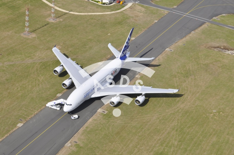 A380 from the air