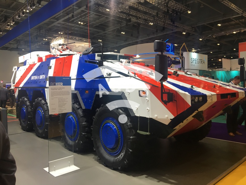 Boxer 8x8 MRAV at DSEI
