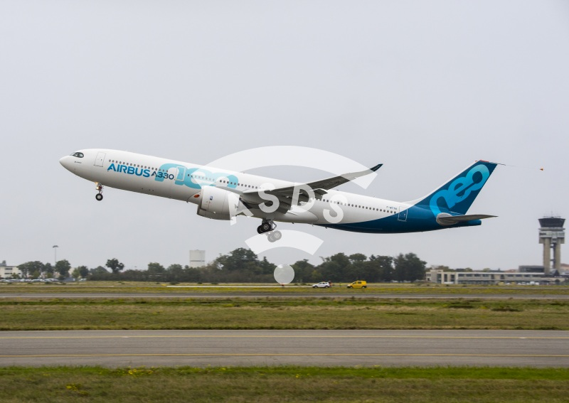 A330neo first take off
