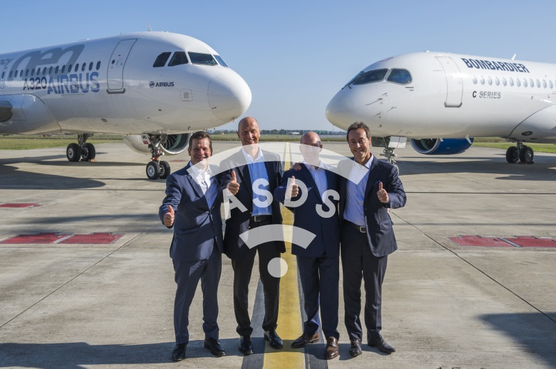 Airbus-Bombardier partnership