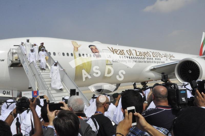 Dubai Airshow opening ceremony