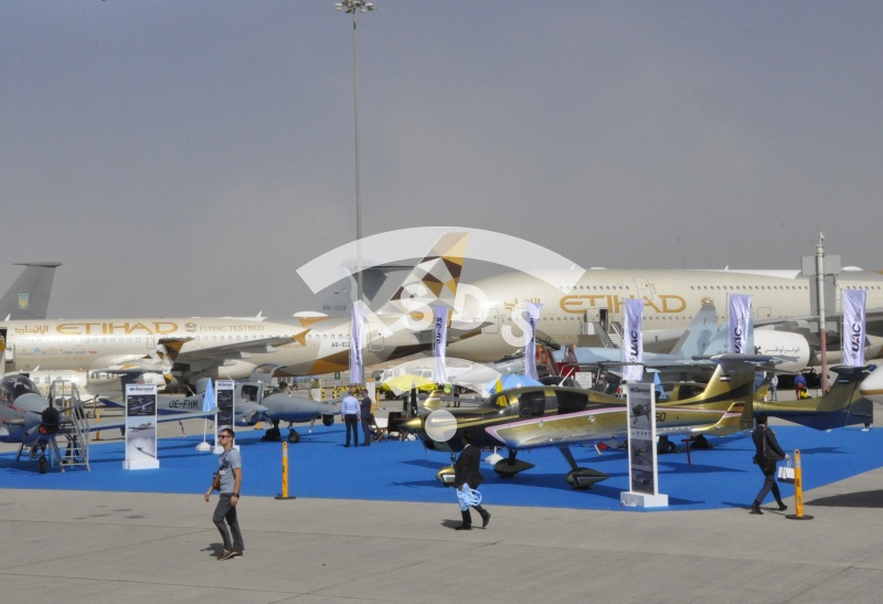 Dubai Airshow Static display
