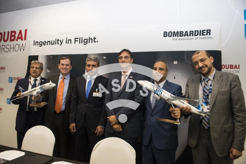 EgyptAir Bombardier C-Series order