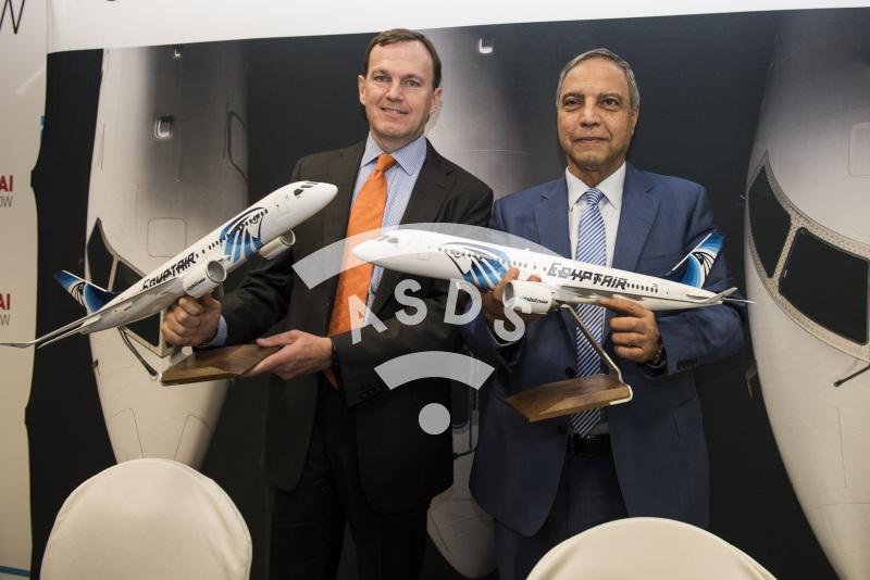 Fred Cromer, Bombardier, and Safwat Musallam, EgyptAir CS300 order