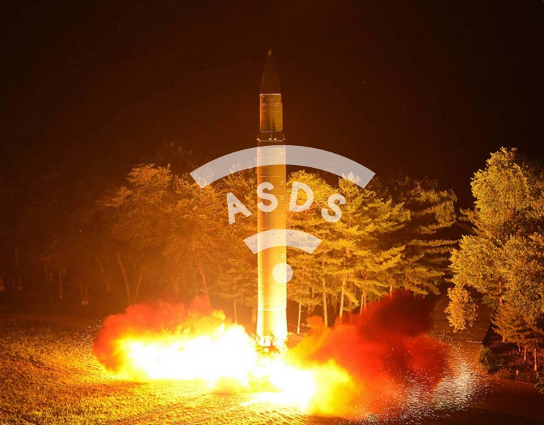 Hwasong-14 North Korea's ICBM firing