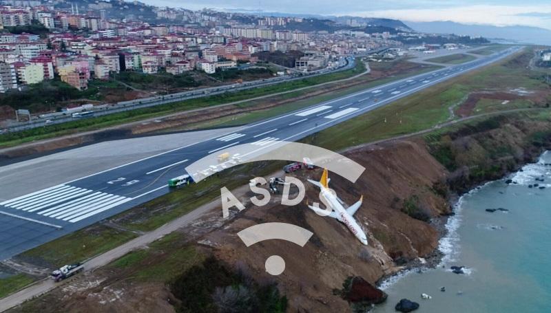 Pegasus B 737-800 Trabzon's accident