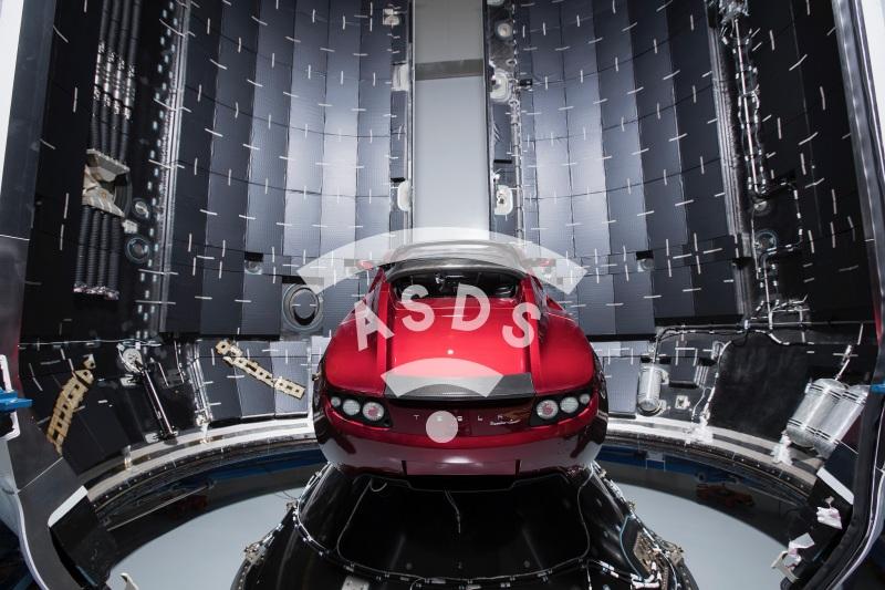 Tesla SpaceX Heavy
