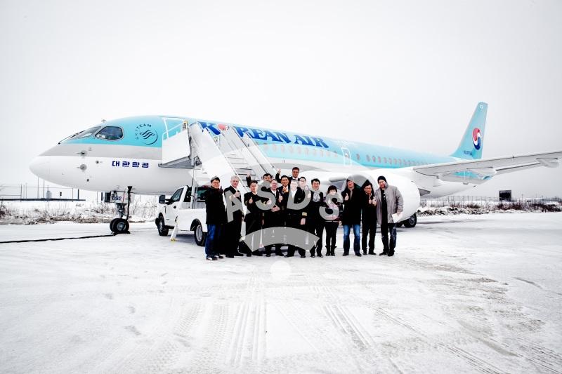 Bombardier Korean Air CS300