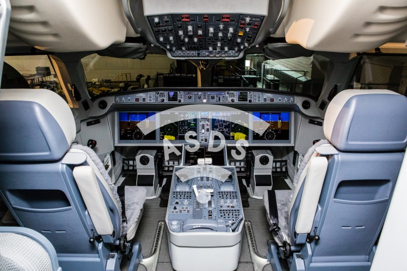 Bombardier Korean Air CS300 Cockpit