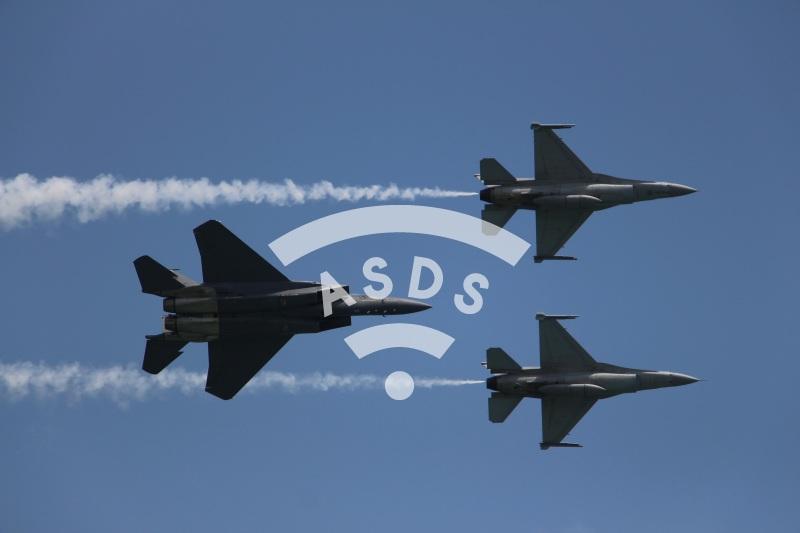 RSAF F-15SG and F-16D