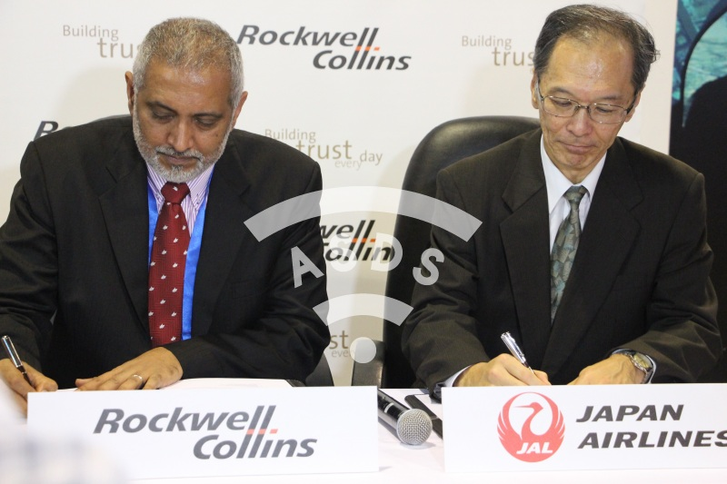 Rockwell Collins ARINC AviNet Airport for Japan Airlines Signature