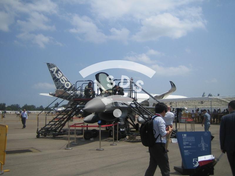 Singapore Airshow static display