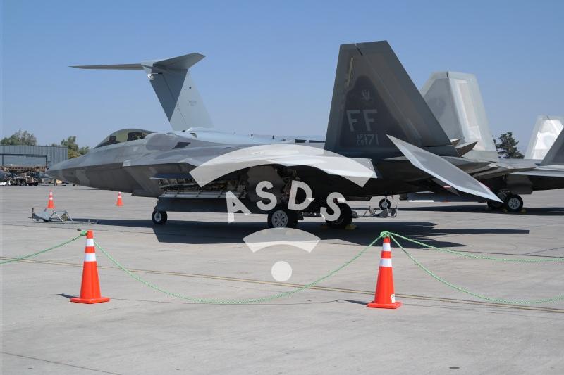 F-22 Raptor at FIDAE 2018