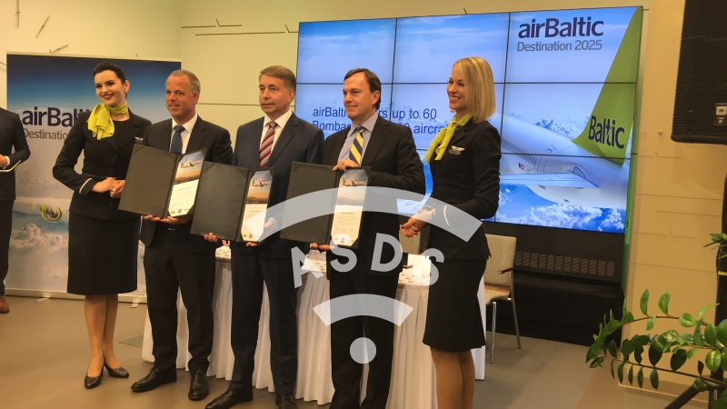 airBaltic Bombardier contract