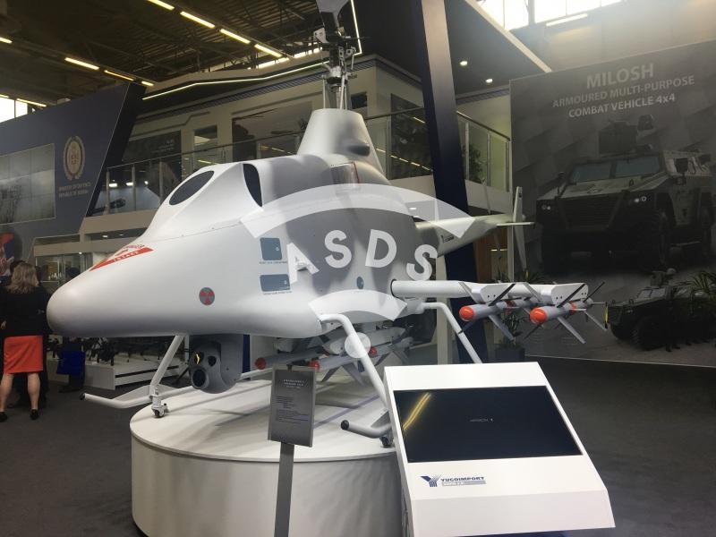 STRSLJEN Serbian UAV
