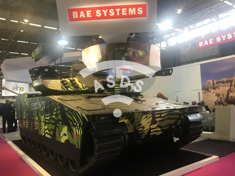 BAE Systems CV90 MkIV IFV