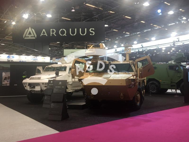 Arquus premiere at Eurosatory