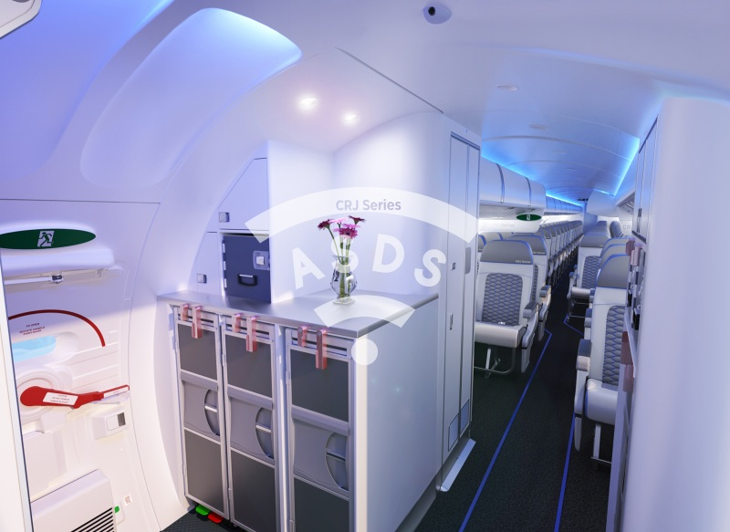Bombardier Atmosphère Cabin