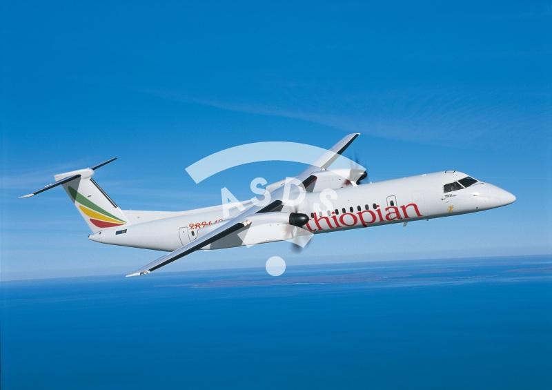 Ethiopian Bombardier Q400