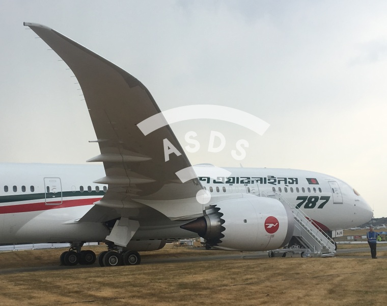B787 Dreamliner at Farnborough 2018