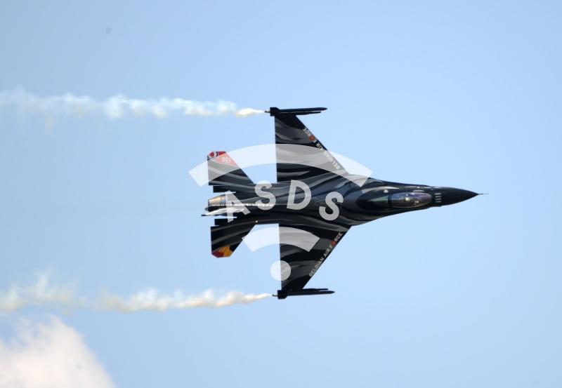 Belgian Air Force F-16C at RIAT 2018