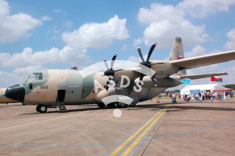 Oman Air Force Hercule C-130J at RIAT 2018