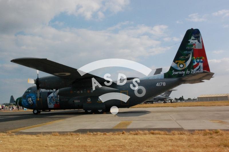 Pakistan Air Force Hercule C-130 at RIAT 2018