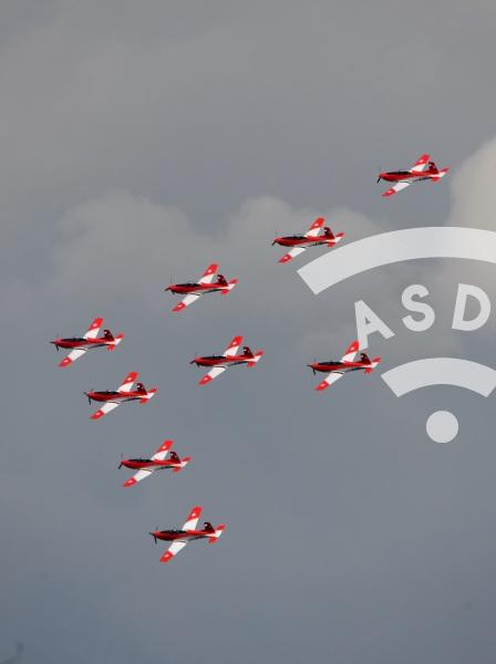 Swiss Aerobatic Team at RIAT 2018