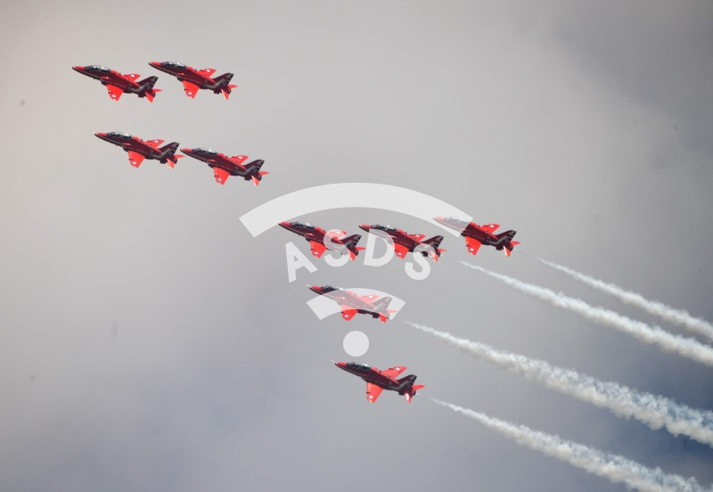 Red Arrows at RIAT 2018