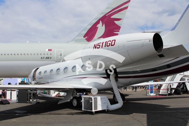 Qatar Airways G500 and B777