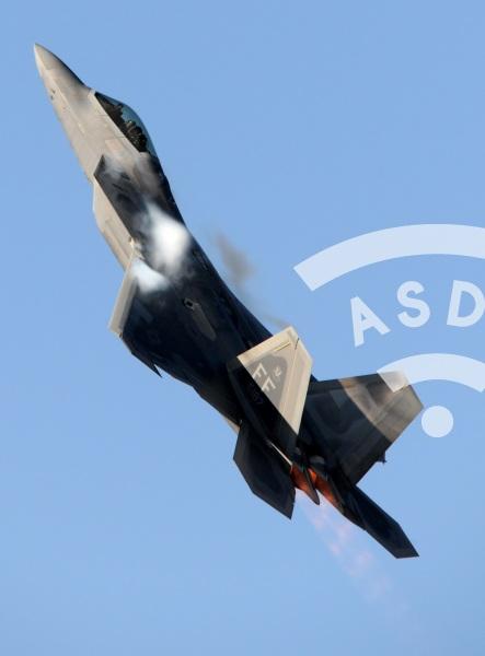 US Air Force F-22 Raptor at FIDAE 2018