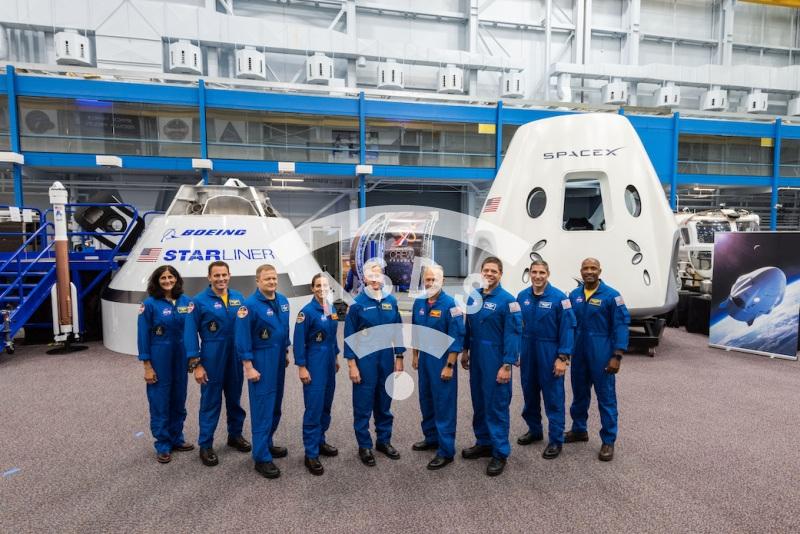 NASA astronauts 2019