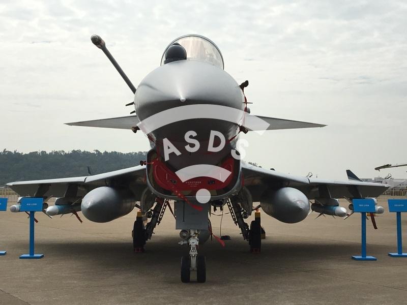 J-10B at Airshow China 2018