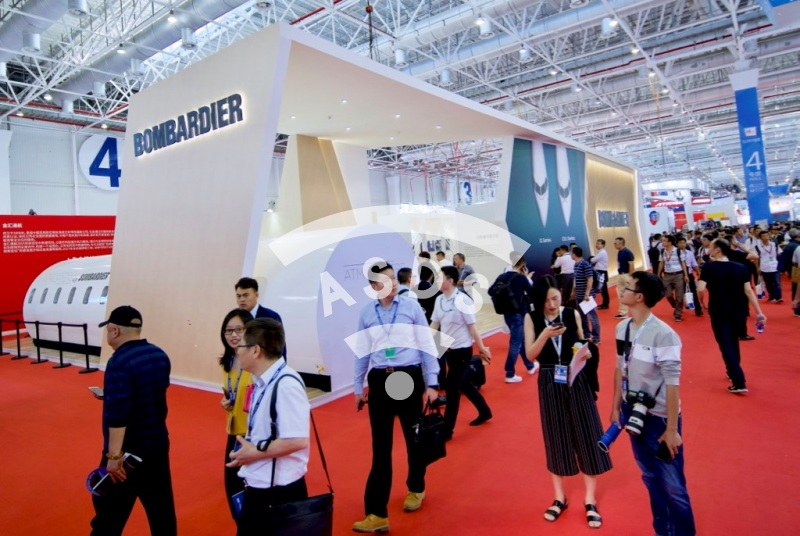 Bombardier at Airshow China 2018