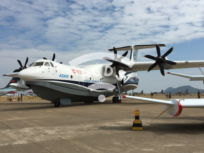 AG600 Chinese amphibious aircraft