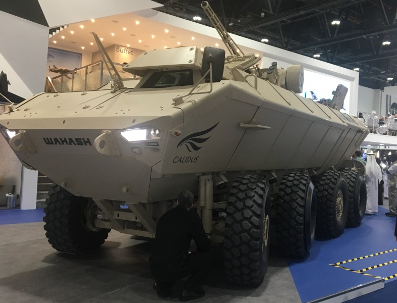 Wahash 8x8 IFV at IDEX 2019
