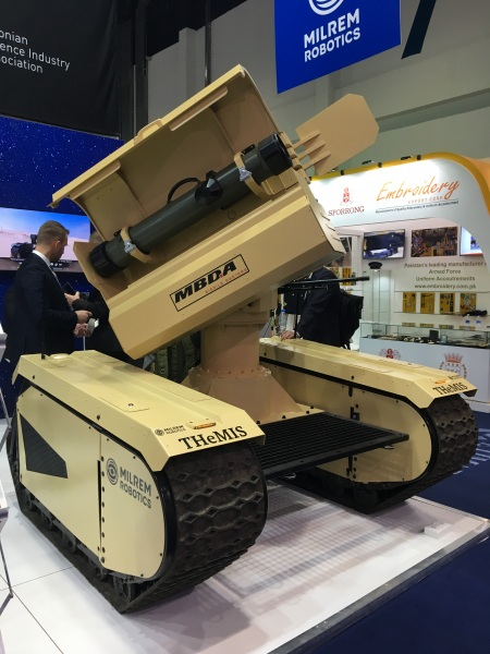 MILREM THeMIS MMP unveiled at IDEX 2019