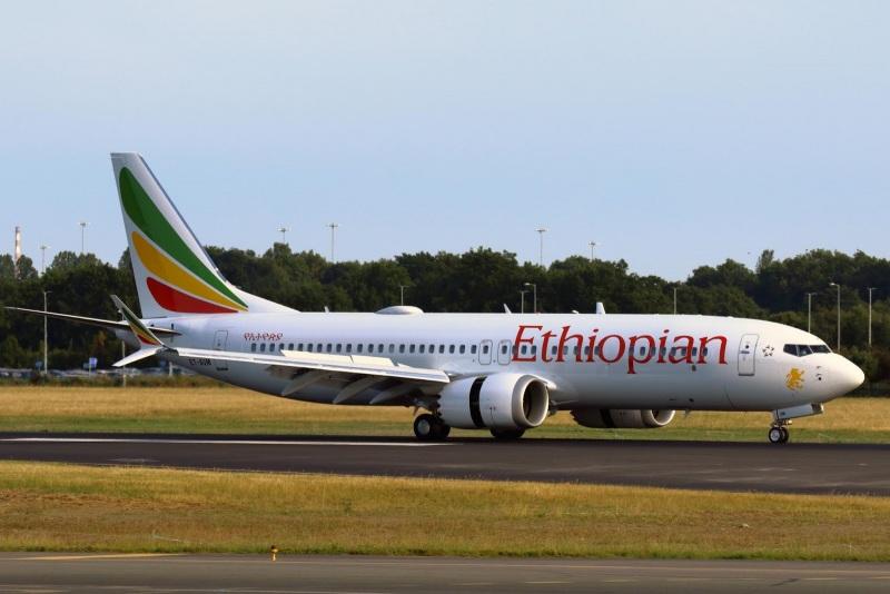 B 737 MAX-8 Ethiopian Airlines