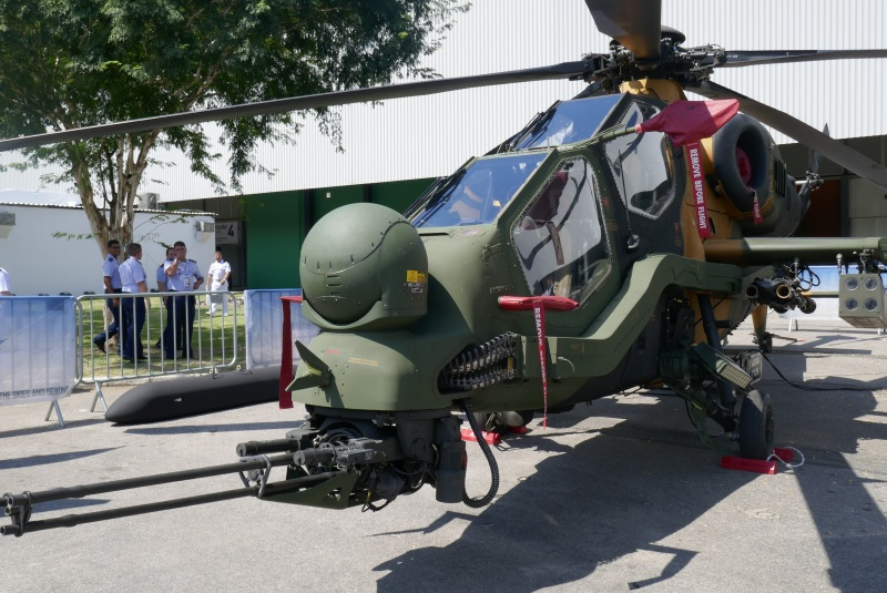 Turkish T129 ATAK helicopter