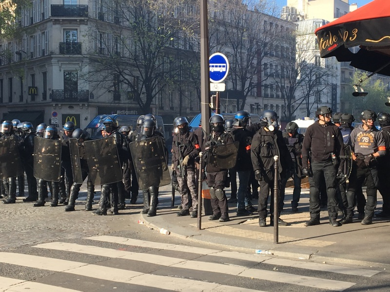 BRAV French Police