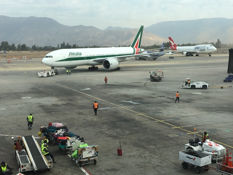 Boeing 777 Alitalia