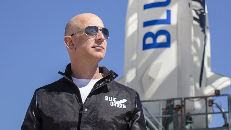 Jeff Bezos - Blue Origin